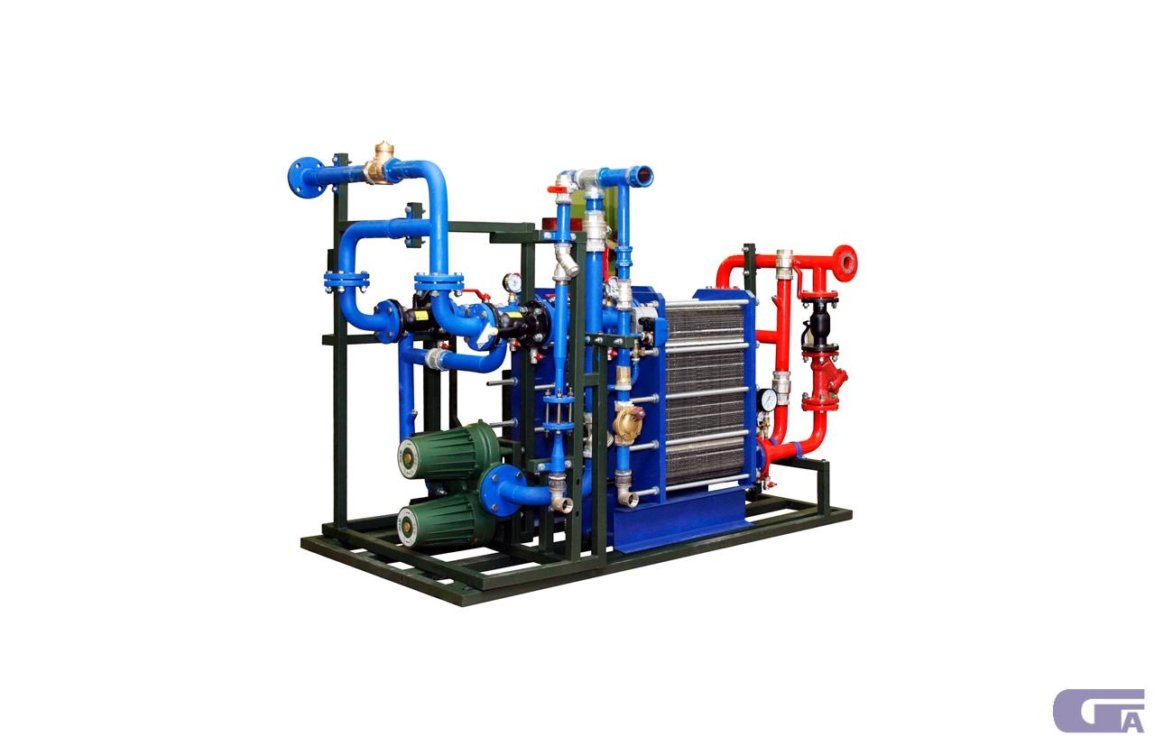 Кожухотрубный испаритель ONDA PE 10 Минеральные Воды