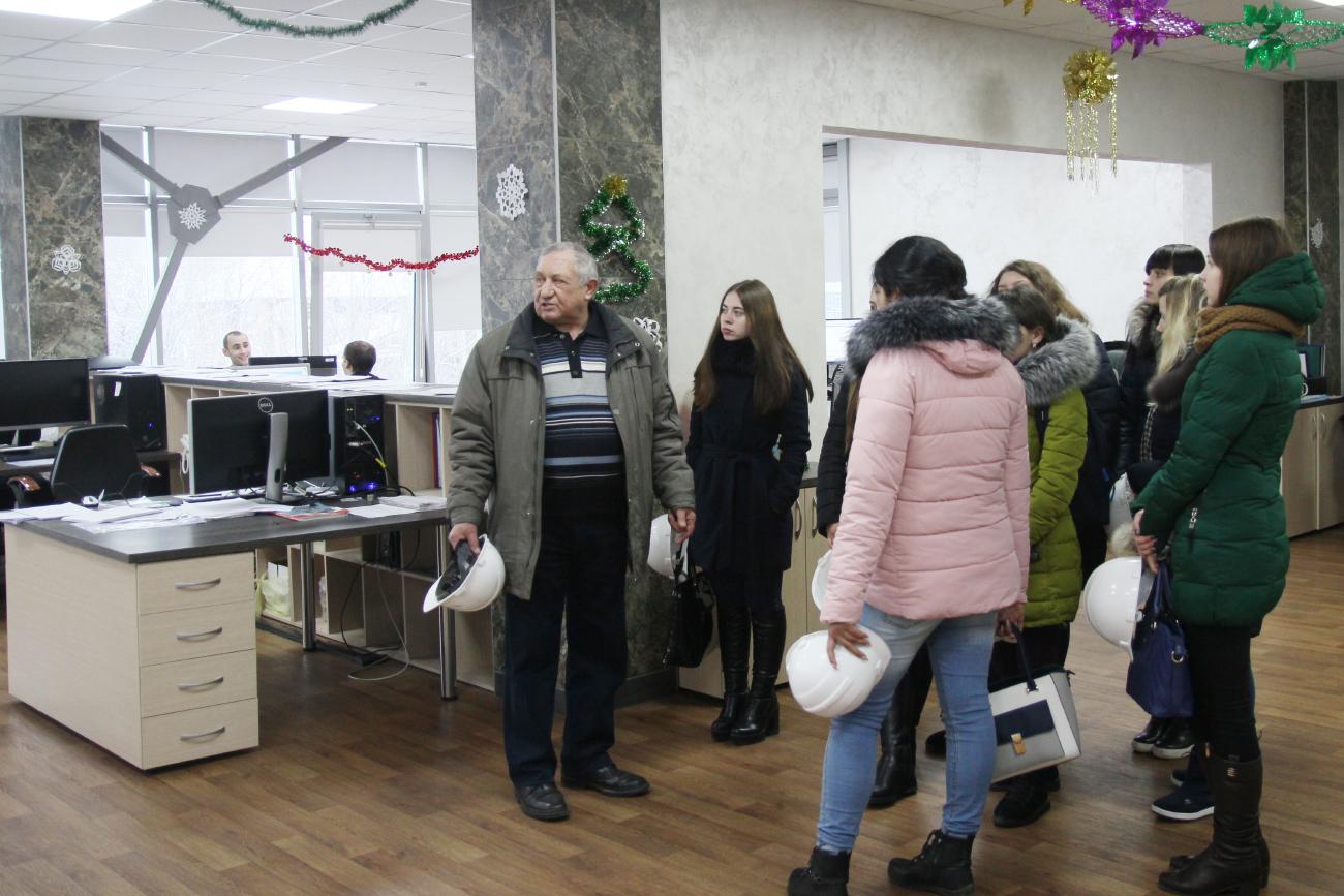 Студенты Института управления им. П.А. Столыпина прошли практику на Заводе