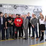 Сотрудники АО «Газаппарат» встретились с победителем турнира «Арнольд.