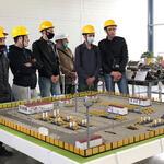 На АО «Газаппарат» была проведена экскурсия для студентов...