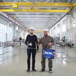 Наше предприятие посетил Президент Союза Саратовских Силачей Вячеслав.