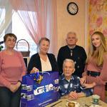 Старейший участник нашей ветеранской организации - Михаил Абрамович Ме...