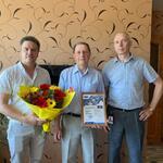 Поздравляем Игоря Васильевича Яковлева с выходом на пенсию...