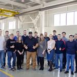 Известные спортсмены провели встречу с сотрудниками АО «Газаппарат»...
