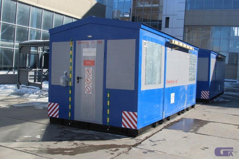 Пункт газорегуляторный блочный ПГБ-50-СГ-ЭК-Т «Голубой поток»