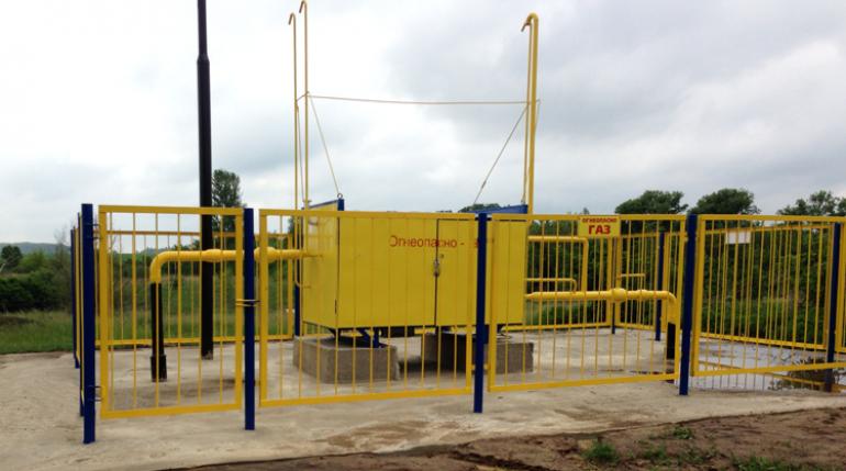 Газовые системы с газовым обогревом и узлом учета расхода газа ГСГО-50/2-СГ-ЭК-Т «Голубой поток»