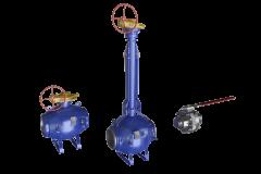 Краны шаровые с ручным управлением (фланцевые / под приварку)