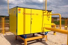 Газорегуляторный пункт шкафной ГРПШ-400М/2-Т «Голубой поток»