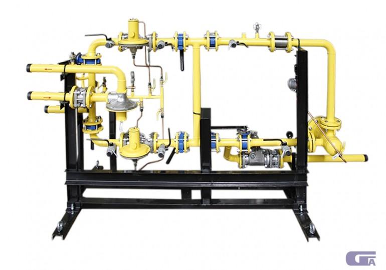 Газорегуляторные установки ГРУ-400/2-СГ-ЭК «Голубой поток»