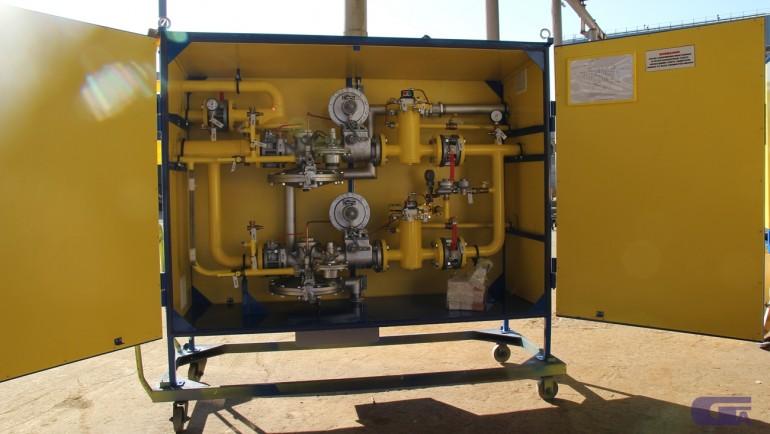 Газовые системы с газовым обогревом ГСГО-МВ «Голубой поток»