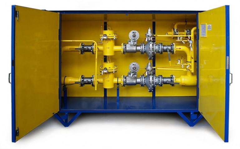 Газовые системы с газовым обогревом ГСГО-100 «Голубой поток»