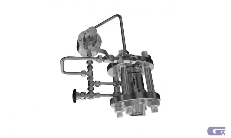 Клапаны сбросные предохранительные с эластичным затвором КПЭ