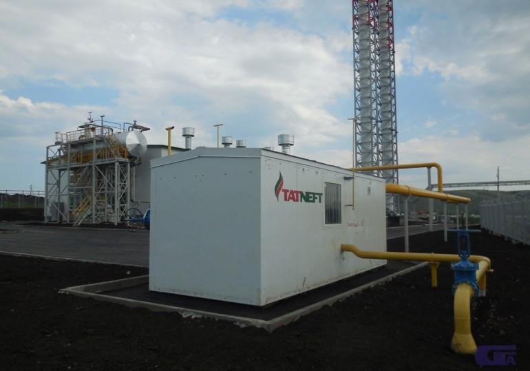 Пункт газорегуляторный блочный ПГБ-100-СГ-ЭК-Т «Голубой поток»