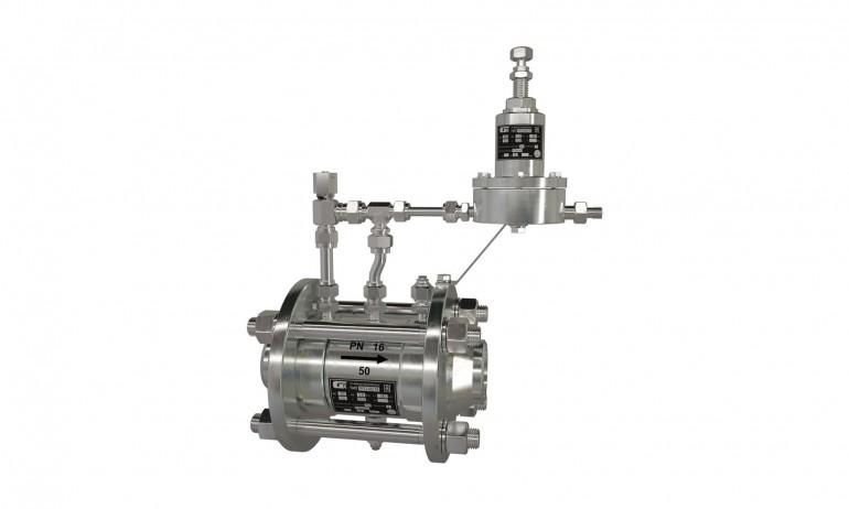 Регулятор газовый осевой РГО 100/16 (УХЛ2)