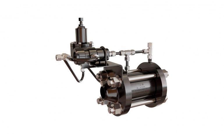 Регулятор газовый поршневой РГП 100/16 (У2)